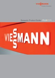 Domestic Product Guide - Viessmann