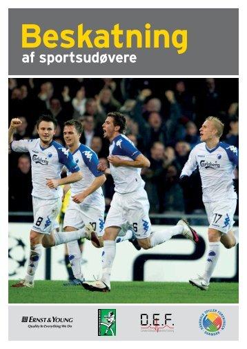 Beskatning af sportsudøvere - Håndbold Spiller Foreningen