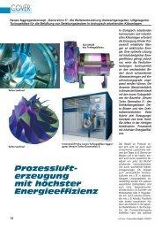 Prozessluft- erzeugung mit höchster Energieeffizienz