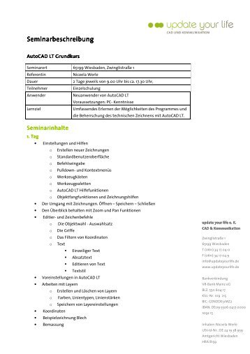 AutoCAD LT Grundkurs - Details