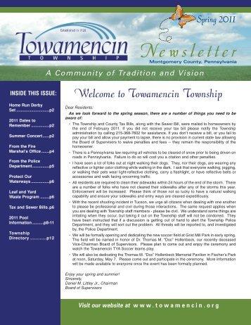 Spring 2011 - Towamencin Township