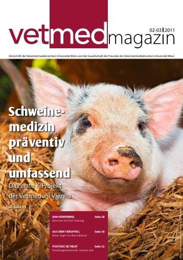 Schweinemedizin präventiv und umfassend - Veterinärmedizinische ...