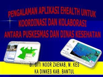 Dr. Siti Noorzainab, M.Kes - Kebijakan Kesehatan Indonesia
