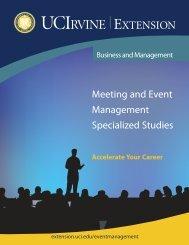 Program Brochure - UC Irvine Extension - University of California ...