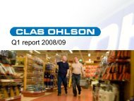 Bild 1 - Clas Ohlson