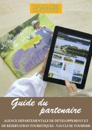 Guide partenaires - Tourisme en Vaucluse