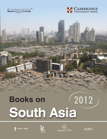 South Asia - Cambridge University Press India