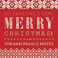 Download here our Christmas 2013 Brochure - Strand Palace Hotel
