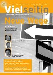 Neue Wege - Evangelische Kirchengemeinde Unterschleißheim