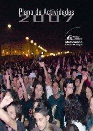 Plano de Atividades e Orçamento 2007 - Câmara Municipal de ...