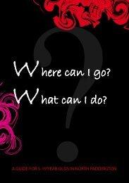 here can I go? - Paddington Development Trust