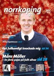 Måns Möller – En jävla pajas på fullt allvar sid 28 - Norrkoping4you