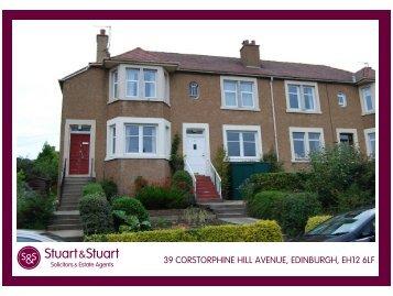 39 corstorphine hill avenue, edinburgh, eh12 6lf - Stuart & Stuart