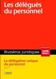 Les délégués du personnel - Catalogue en ligne Centre de ...