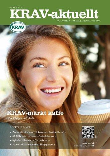 KRAV-märkt kaffe