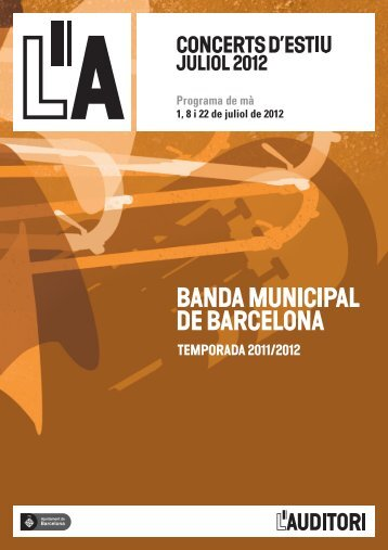 BANDA MUNICIPAL - L'Auditori