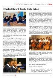 Charles Edward Brooke Girls' School - Secondary Schools