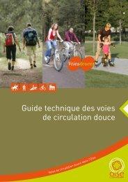 Guide technique des voies de circulation douce - Conseil général ...