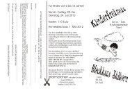 1. Mai 2012 - Ev.-luth. Kirchengemeinde Varel