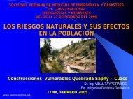 Riesgos Naturales y sus Efectos en la Población - Reeme.arizona.edu