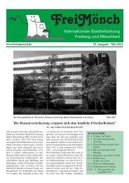 Ausgabe 35 - Bürgerverein Freiberg und Mönchfeld eV