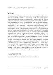 RESUMO PALAVRAS-CHAVE - GVpesquisa