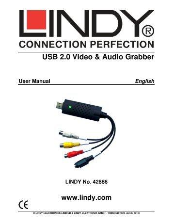 USB 2.0 Video & Audio Grabber - Opentip.com