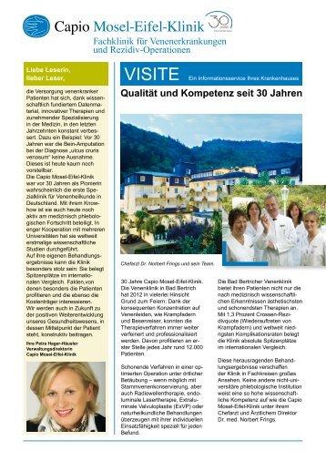 Qualität und Kompetenz seit 30 Jahren - Mosel-Eifel-Klinik