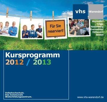Sprachen lernen - Volkshochschule Warendorf