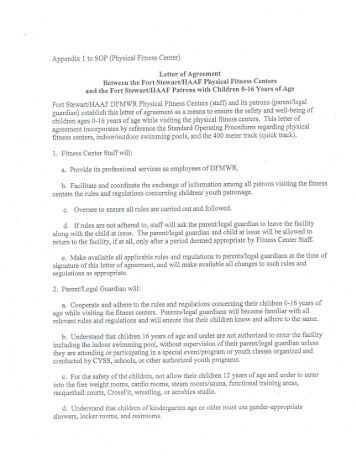 Gym Contract Template – 14+ Free Word, PDF Documents Download!