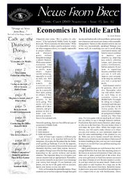 News from Bree 15 - Home of Middle-earth Strategic Gaming