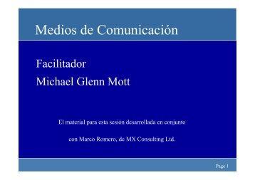 O.1 Medios de comunicación - Eurochambres Academy