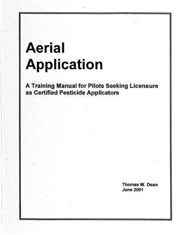 Aerial Applicator- Category 11