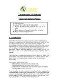 Tavernspite CP School Ysgol Tafarnspite Internet Safety Policy - Page 2