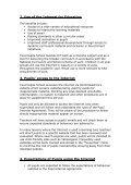 Tavernspite CP School Ysgol Tafarnspite Internet Safety Policy - Page 3