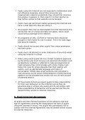 Tavernspite CP School Ysgol Tafarnspite Internet Safety Policy - Page 4
