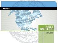MetLife Financial Strength Materials Consumer ... - Shaw American