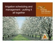 Irrigation Scheduling - Putting It All Together For Efficiency and ...