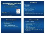 Lezione di Andrea Abel su ELDIT - PEOPLE - Università degli Studi ...