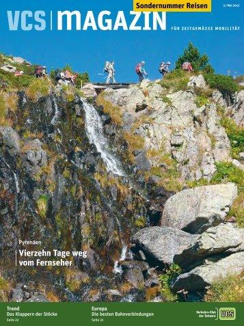 Sondernummer Reisen - VCS Verkehrs-Club der Schweiz
