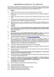Termo Promocional OC Ilimitado Local +10M - GVT