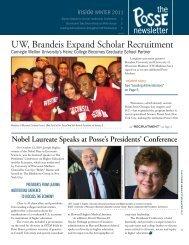 boston Posse Boston Graduates Six Posses of Scholars
