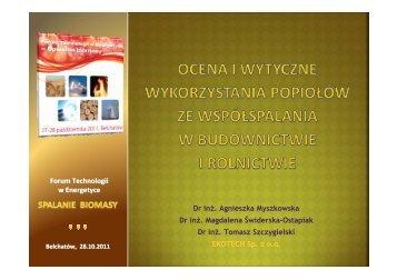 dr inA1. Tomasz Szczygielski