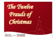 Hosted by - City of London Police
