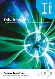 Edition 62 - Isis Innovation