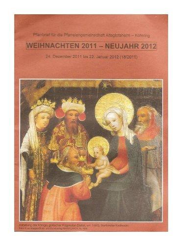 Pfarrei St - Pfarrei Köfering