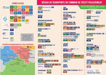 RéseAu De tRAnsPoRts en CoMMun De VélIZy-VIllACouBlAy