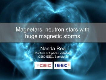 Magnetars: neutron stars with huge magnetic storms