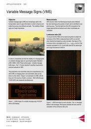 Variable Message Signs (VMS): (pdf) - Delta