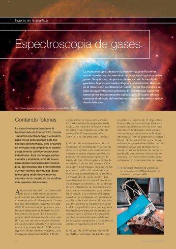 Espectroscopia de gases